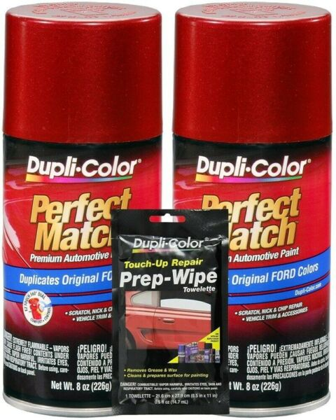 Duplicolor Electric Currant Red Ford, Lincoln & Mercury Paint - Code: EG (8 oz)
