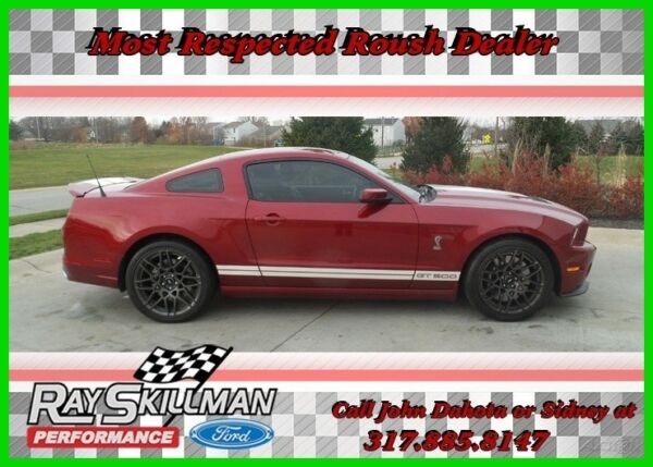 2014 Ford Mustang Shelby GT500 Coupe 2-Door 2014 Used 5.8L V8 32V Manual RWD Coupe Premium