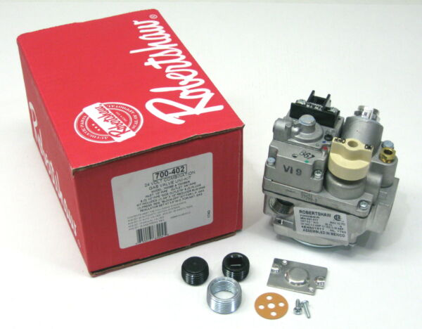 Robertshaw 700 402 Gas Heating Furnace Valve 7000BER 24 Volt $87.06