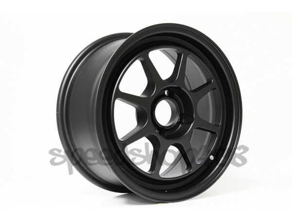 ROTA Hunter WHEELS 15X7 +35 4X100 Flat Black FOR CIVIC INTEGRA DEL SOL FIT