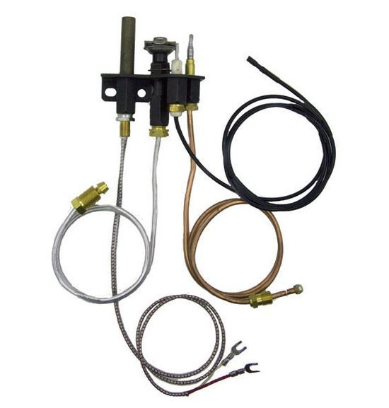 Superior Direct Vent Fireplace Natural Gas Pilot Assembly 904405 69L1701