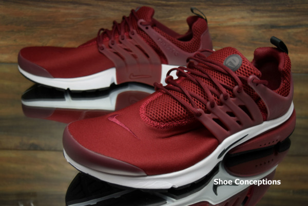 Nike Air Presto Essential Team Red 848187-602 Running Shoes Men's Multi Size