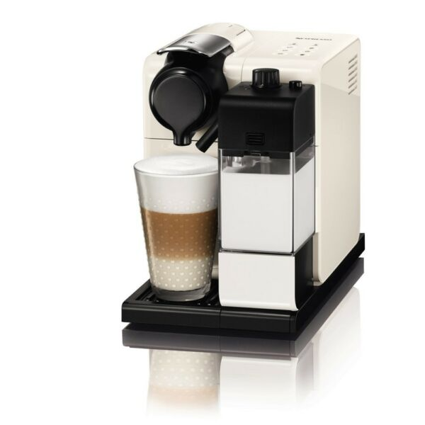 Nespresso F511WH Capsule Coffee Espresso Maker Machine Lattissima Touch White