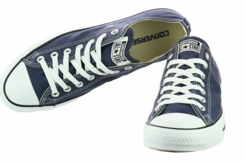 men's CONVERSE ALL STAR CHUCK TAYLOR OX CANVAS M9697 NAVY/WHITE
