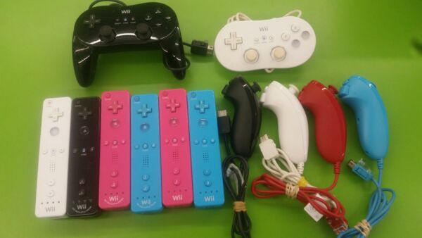 Wii Pro Classic Nunchuck Controller Remote Original Authentic OEM Official $36.97