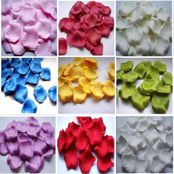 100 5000 Decoration Table Confetti Gift Flower Rose Petals Wedding Party Floral