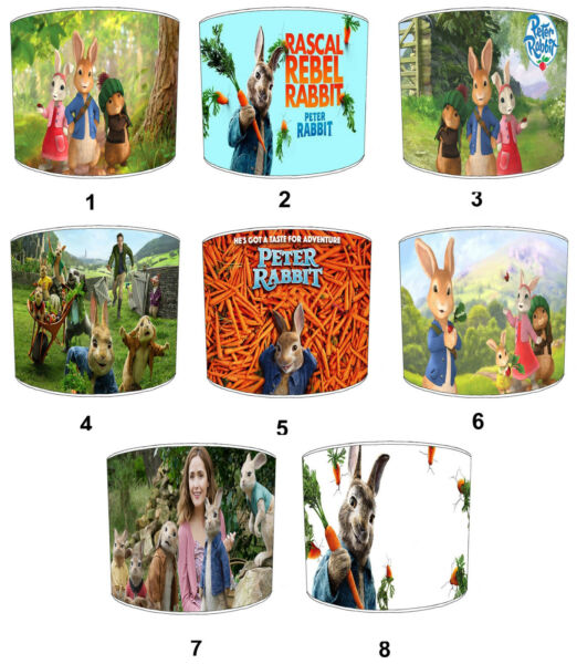Peter Rabbit Lampshades Ideal To Match Beatrix Potter Peter Rabbit Quilt Covers