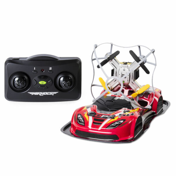 Air Hogs and ndash; 2-in-1 Drone Power Racers For Driving And Flying
