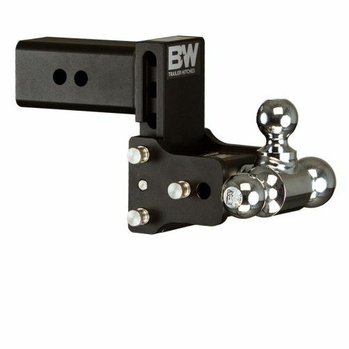 Bamp;W TS30049B Tow amp; Stow 3 Ball Mount Hitch 7.5quot; Drop; 7quot; Rise Black 3quot; Hitch $369.00