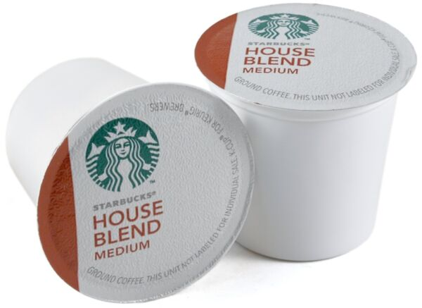 Starbucks House Blend Medium Roast Coffee Keurig K-Cups 160 Count