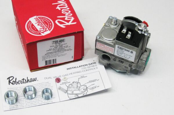 720 400 Robertshaw Gas Heating Furnace Valve 24V 7200ER $86.20