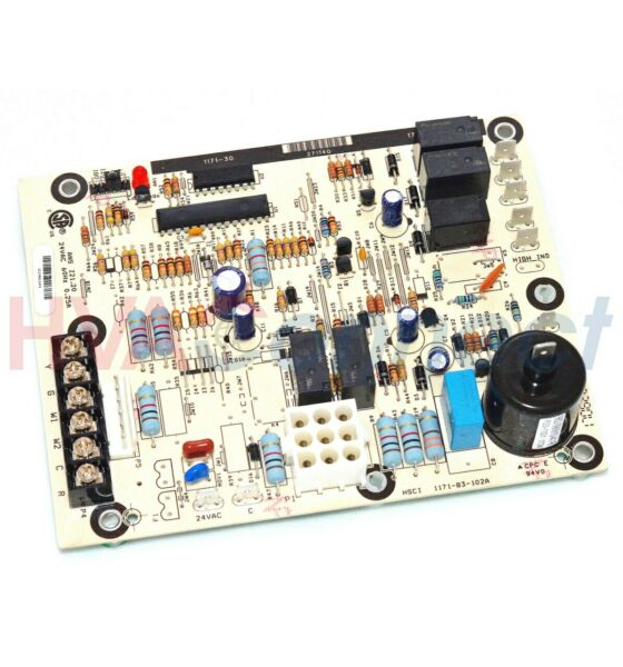 York Luxaire Coleman Furnace Control Circuit Board S1 03109175000 031 09175 000 $172.87