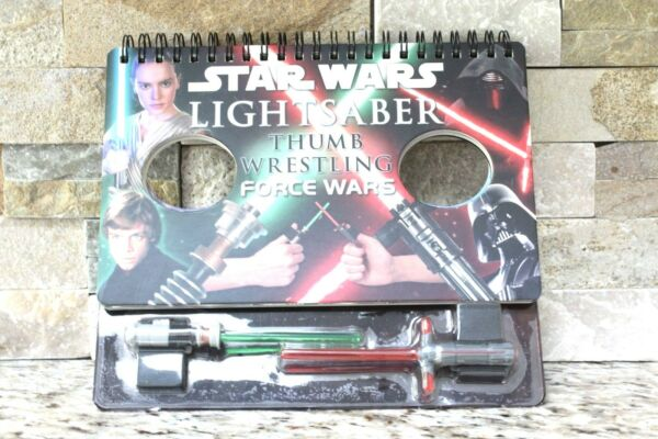 Star Wars Lightsaber Thumb Wrestling book game gift