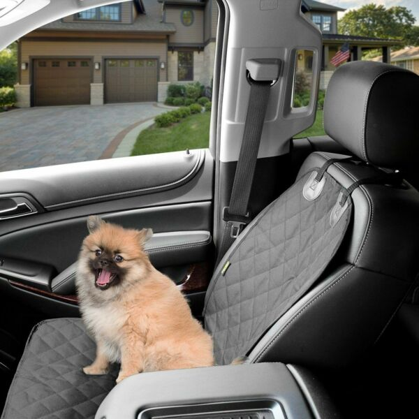 Dog Cover Front Car Seat Waterproof Resistant Non Slip With Sea Anchors amp; Straps $18.95