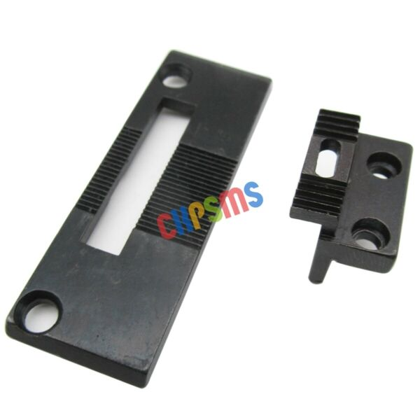 #240144264510 NEEDLE PLATE amp; FEED DOG fit for Singer 111G 111W 211G Consew 225 $9.51