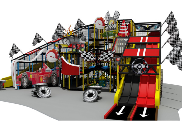 2500 sqft Commercial Indoor Playground Themed Interactive Soft Play We Finance
