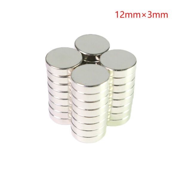 96 Pieces of Heavy-Duty Rare-Earth Neodymium Magnet (Round-shaped)