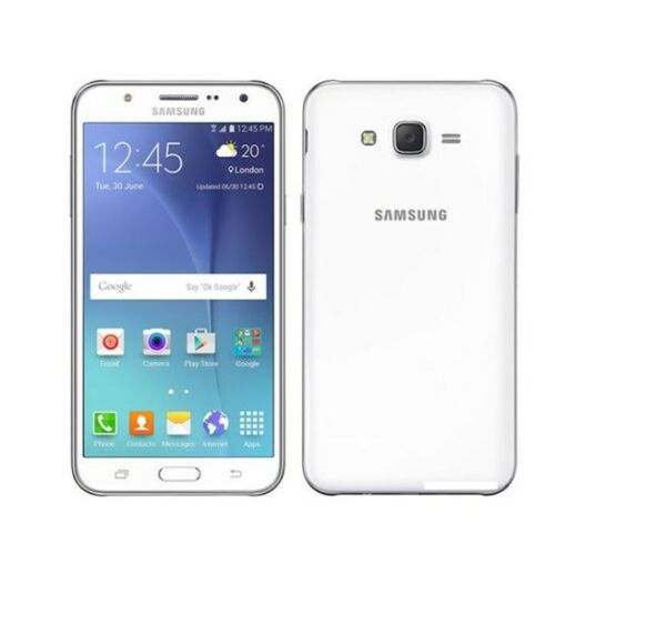 Samsung Galaxy J7 SM-J700T White r (T-Mobile) GSM Unlocked Smartphone Cell Phone
