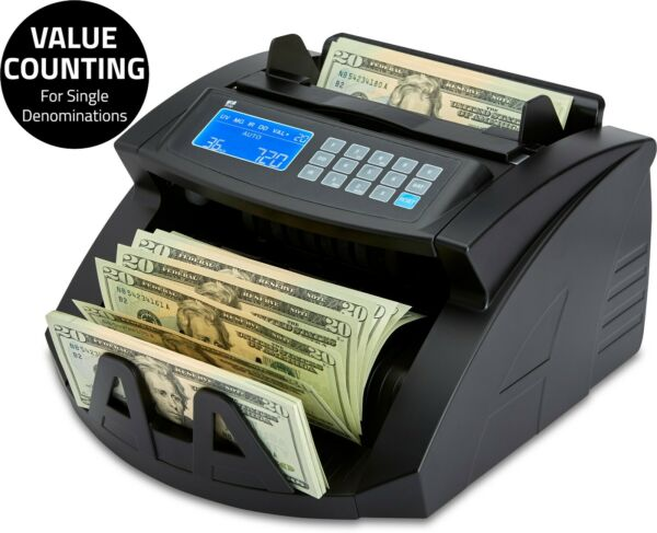 Bill Money Counter Cash Currency Count Counting Automatic Bank Machine
