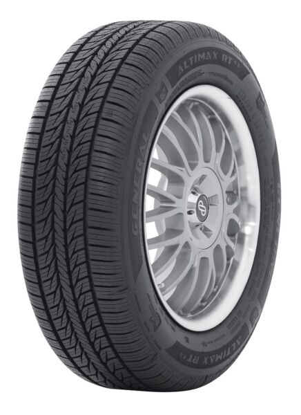 4 New General AltiMAX RT43 102T 75K-Mile Tires 2256517225651722565R17