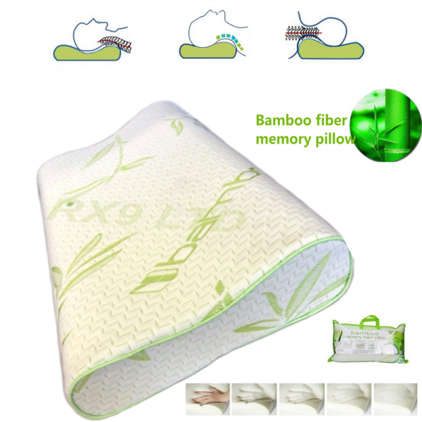 Luxury Contour Memory Foam Pillow Bamboo Orthopedic For Neck Head Back Support N GBP 12.99