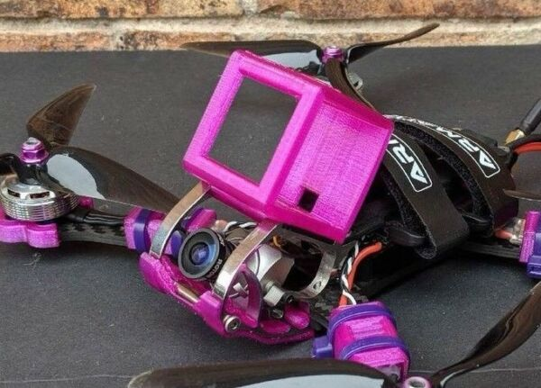armattan-rooster-GoPro-session-mount-case-8-Colors-Camera-TPU-Qav-USA-3d-Drone