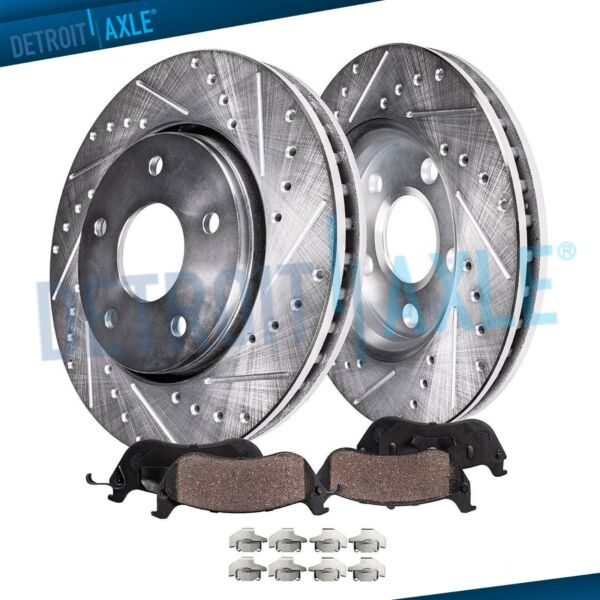 Front Brake DRILLED Rotors & Ceramic Pads for Toyota Solara Camry Sienna 11.65