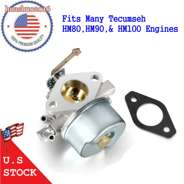 For Tecumseh HM80 HM90 HM100 8-10 HP Carburetor Carb Generator Engines 640152 US