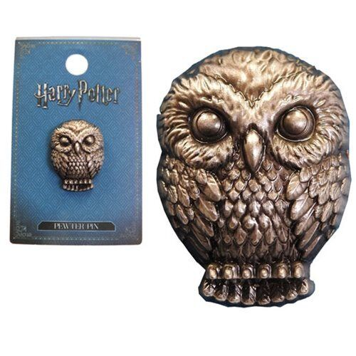 Harry Potter NEW * Hedwig Owl * Pewter Lapel Pin Accessory Charm Pin Back