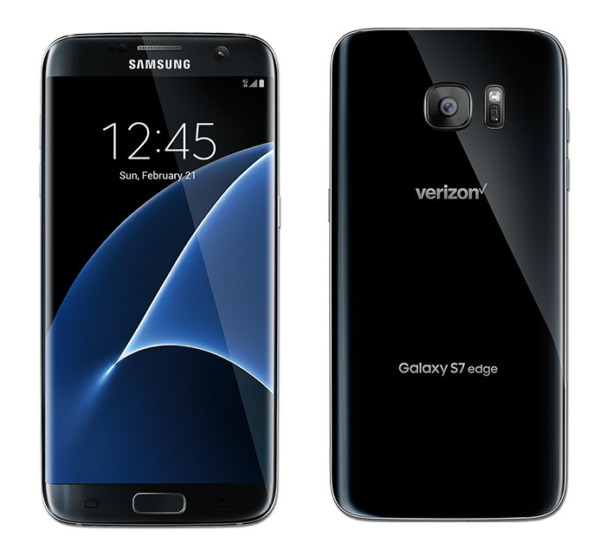 NEW Samsung Galaxy S7 Edge SM G935V 32GB Verizon Black Unlocked LTE Smartphone