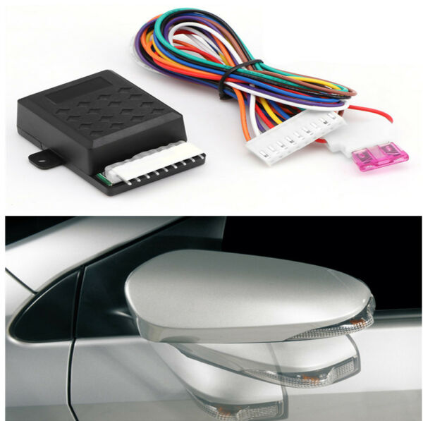 Durable Automatic Car Rear View Side Mirror Smart Folding System ACC On Off