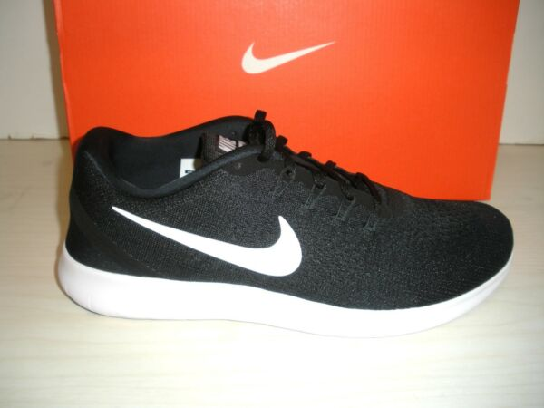 NIKE MENS FREE RN RUNNING SHOES -SNEAKERS- 880839-001- BLACK /WHITE -9.5, 10, 11