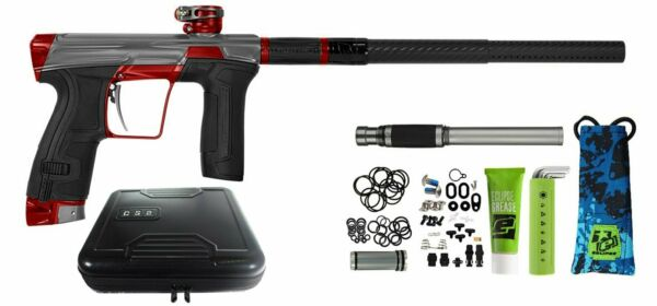 Planet Eclipse Geo CS2 Paintball Marker Gun - Ashes4 Grey  Red