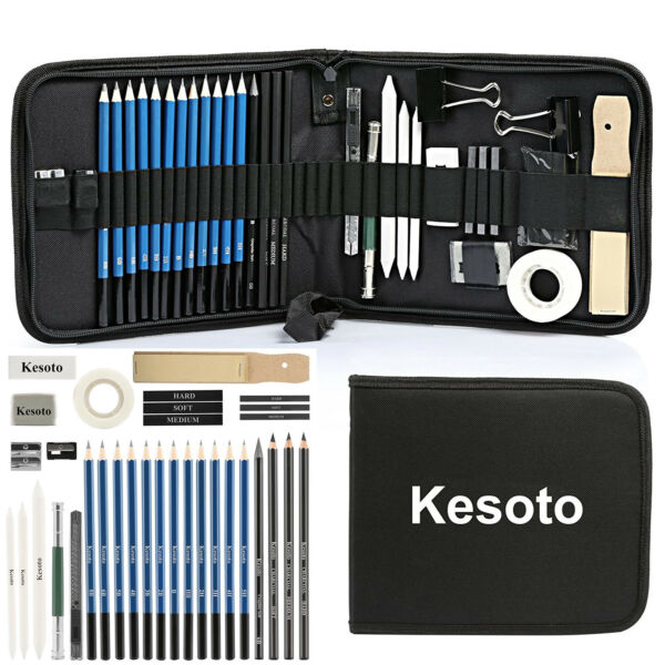 Drawing Kit Professional Art Set Pencils Supplies Sketch for Kids Teens Adults