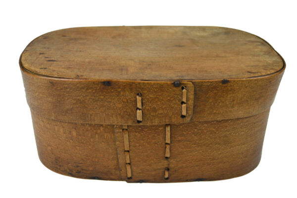 Antique Bent Wood Dry Goods or Pantry Box. French.