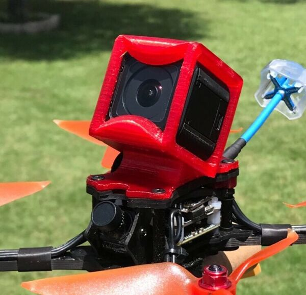 Emax Hawk 5 GoPro session mount case Cover drone fpv Tpu Runcam USA Esc Hero