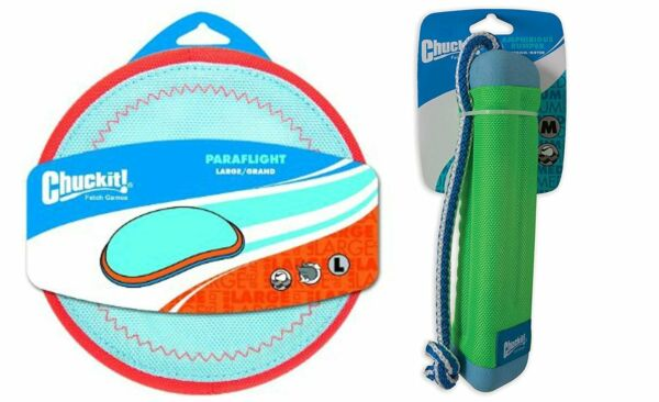 ChuckIt! Water Exercise Toy Bundle for Dogs with ChuckIt! Medium Amphibious...