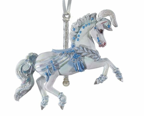 Breyer NEW * Winter Whimsy * Carousel Ornament Christmas Holiday Model Horse
