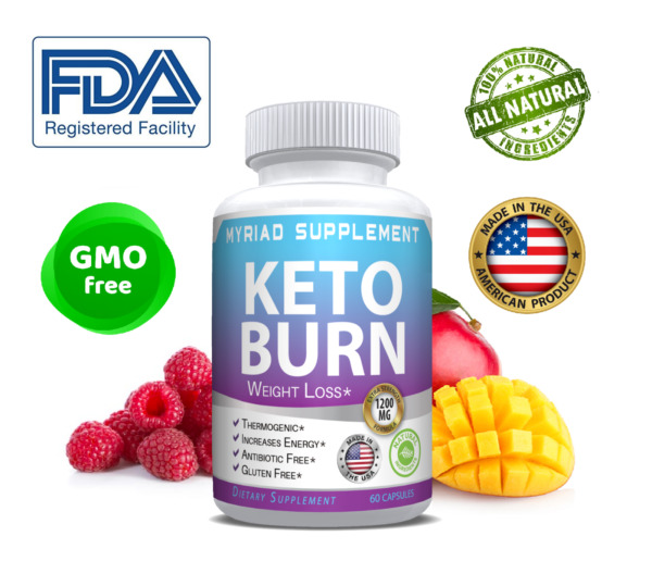 Keto Burn Diet Pills 1200 MG Ultra Ketosis Advanced Weight Loss Supplements