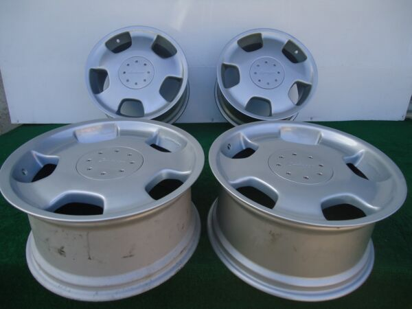 SET OF (4) FACTORY MERCEDES D93 LORINSER STAGGERED FRONT 18