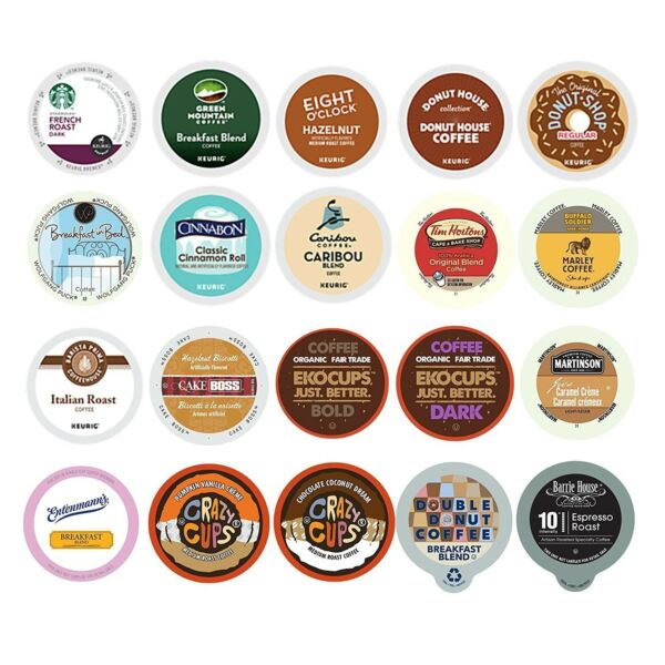 Kureg Coffe Pod Espresso K-cups flavors flavored original 2.0 k cup variety pack