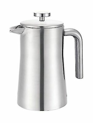 Francois et Mimi Stainless Steel Double Wall French Coffee Press 34-Ounce
