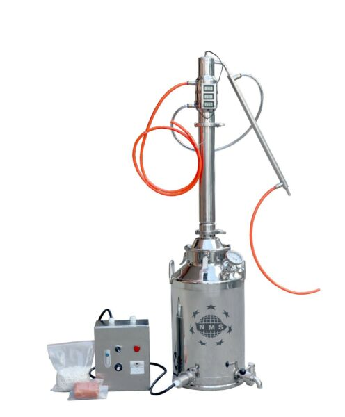 13 Gallon boiler with 3quot; Stainless Steel Re flux Column Moonshine Still Kits $975.98