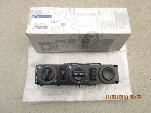 03 06 DODGE SPRINTER 2500 3500 A C HEATER CLIMATE TEMPERATURE CONTROL OEM NEW