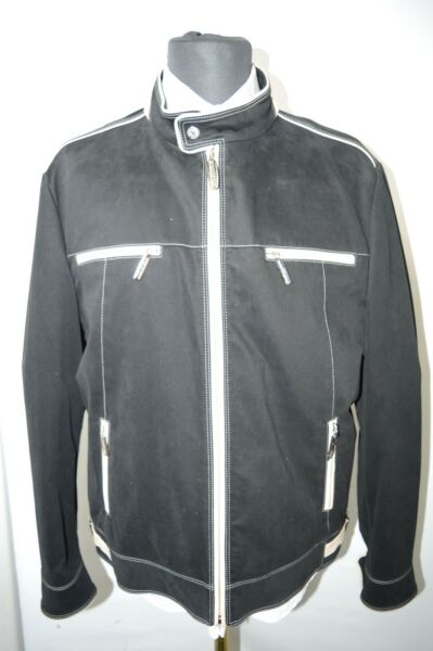 NEW 945000 $ STEFANO RICCI  Outwear Top Over Coat Leather Us M Eu 50 (G133)