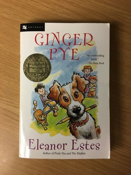 Ginger Pye by Eleanor Estes author of Pinky Pye and The Moffats