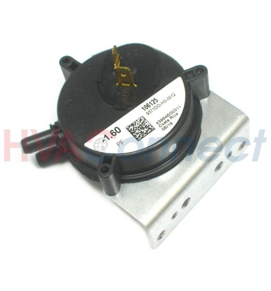 OEM York Luxaire Coleman Furnace Air Pressure Switch 024 27639 001 1.20 PF $35.75