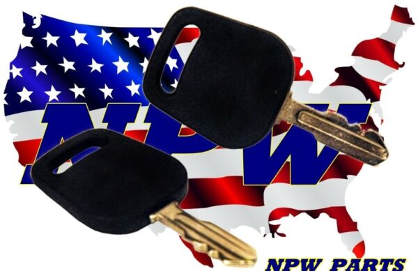 (2 pack) Bad Boy Zero Turn Mower Ignition Key MZ ZT CZT Outlaw Pup fits all