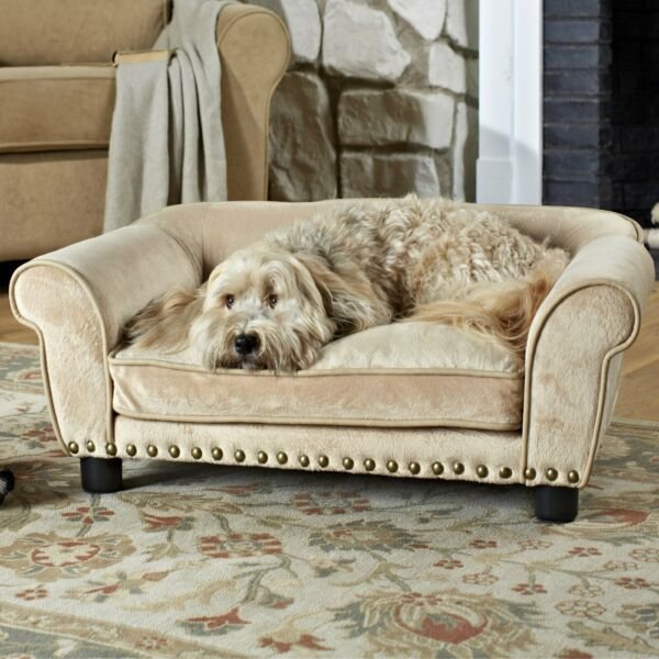 Dog Bed Sofa Pet Couch Ultra Plush Toy Storage Easy Clean Cats Dogs Up To 50 lbs $212.88