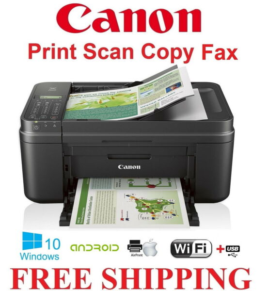 NEW Canon PIXMA 490/4520(7520) Wireless Color Printer All-In-One Scan Copy-FAX